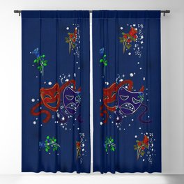 American Drama Comedy & Tragedy Blackout Curtain