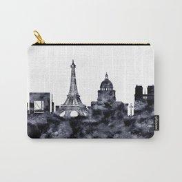 Paris France Skyline Carry-All Pouch