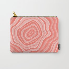 Melting Pink Coral Carry-All Pouch