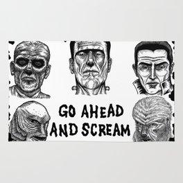 Go Ahead and Scream Rug