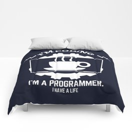 Programmer - I am coding Comforters