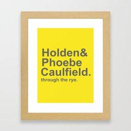 Caulfield Framed Art Print