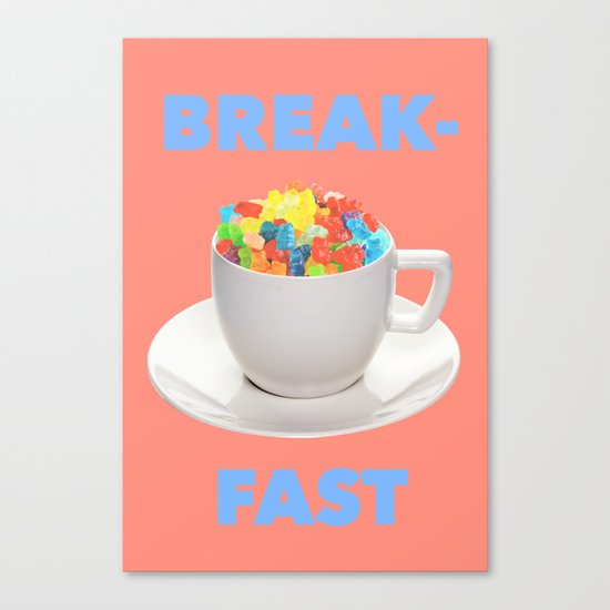 Breakfast Candy Canvas Print