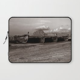 Old Port of Trapani Laptop Sleeve