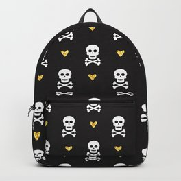 Skulls & Crossbones Pattern Backpack