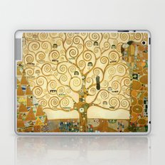 Gustav Klimt - Tree of Life Laptop & iPad Skin