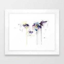 ill vision Framed Art Print