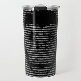 Code Monkey Ascii Art Travel Mug