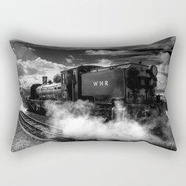 Steaming Clouds  Rectangular Pillow