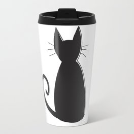 Cat Silhouette Travel Mug