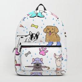 Dotty Downpour Doggie Doodles Backpack