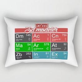ae'm 3d modeler Rectangular Pillow