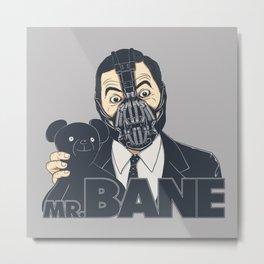 Mr. Bane Metal Print