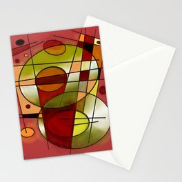 Abstract #752 Stationery Cards
