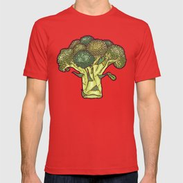 brilliant broccoli T-shirt