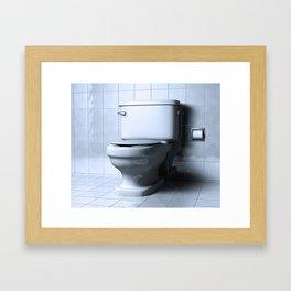 WC Framed Art Print