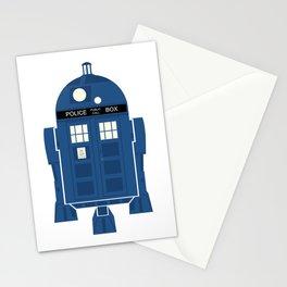 R2-TARDIS Stationery Cards