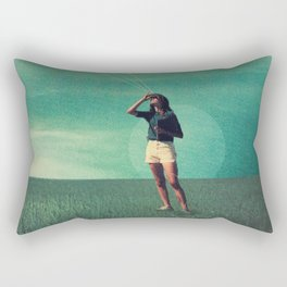 Loved the way You once looked upon Tomorrow Rectangular Pillow