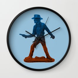 Toy Cowboy Wall Clock