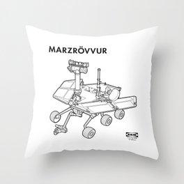 MARZRÖVVUR Throw Pillow