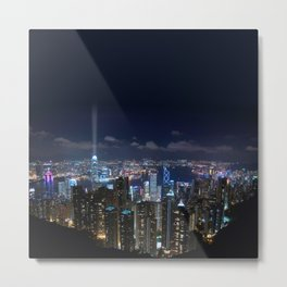 Hong Kong- Victoria Peak Metal Print