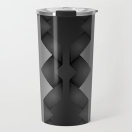 Carbon Screen Pattern Travel Mug