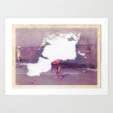 It´s gone · The forgotten childhood Art Print