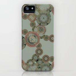 MATRIX FLORAL iPhone Case