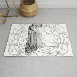 The Bane of the Spider Queen Occult Rug