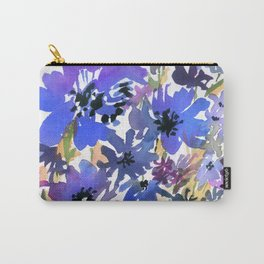 Heavenly Blues and Purples Carry-All Pouch