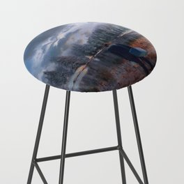 The coming of the dawn Bar Stool