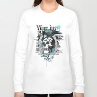 monster inc Long Sleeve T-shirts featuring War inc. by Tshirt-Factory