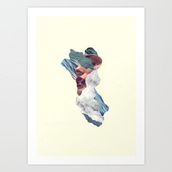 M'Ocean Art Print