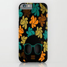 Afro Diva: Fall Colors Brown Gold Teal iPhone 6s Slim Case