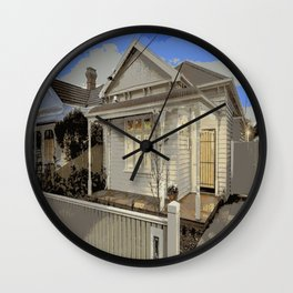 Melbourne Edwardian Cream  Wall Clock