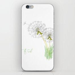 Make a Wish iPhone Skin
