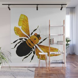 Bumble Bee Wall Mural