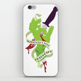 Zombie Hand: Blades Don't Need Reloading iPhone Skin
