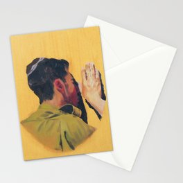 Untitled (soldier, gold) Stationery Cards