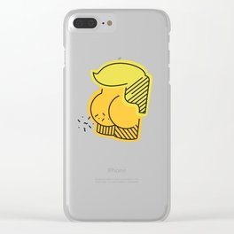 Say it, don't spray it. Clear iPhone Case