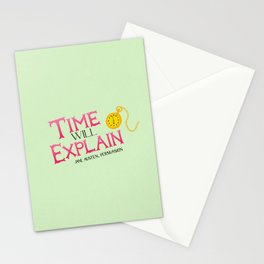 Jane Austen Time Will Explain Stationery Cards