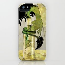 The Drunken Dragon II iPhone Case