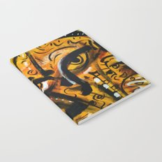 The third eye expressionist art Notebook