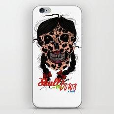 Skull-N-Bows iPhone & iPod Skin