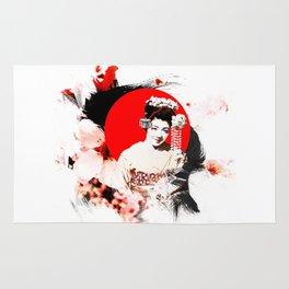 Kyoto Sakura Girl Rug