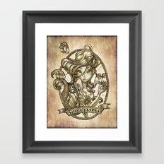 SIREN (sketchbook series) Framed Art Print