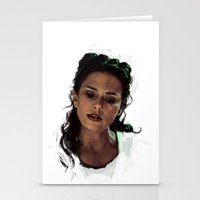 melissa smith Stationery Cards featuring Melissa by @cuisle