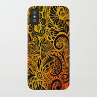 hakuna iPhone & iPod Cases featuring Hakuna Matata by Doodle Design
