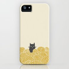 Cat and Yarn Slim Case iPhone (5, 5s)