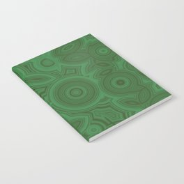 Green Agate Notebook